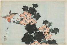 Flowers by Katsushika