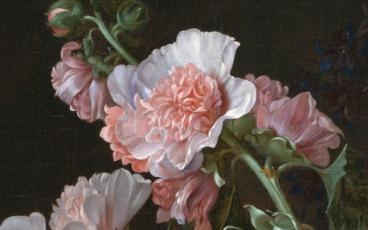 Vanitas Flower Still Life, detail c. 1656 by Willem van Aelst